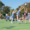 BROWNS WELL NETBALLERS TAKE TWO PENNANTS TO 'PREMIERSHIP CITY'.