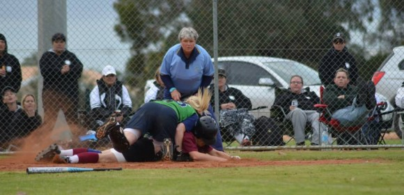 TENSE SOFTBALL PRELIMINARY FINAL TO LOXTON BLUE