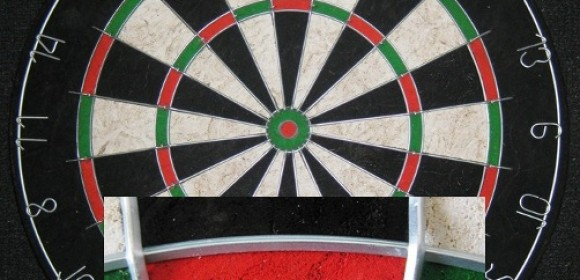 NEARLY A CHRISTMAS PRESENT FOR DOUBLE JACKS TWO IN DARTS